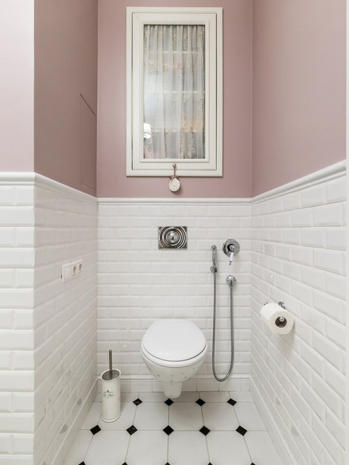 Cloakroom Design Ideas Renovations Amp Photos With Metro Tiles