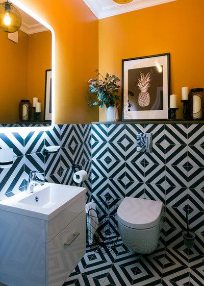 Contemporain Toilettes by FLATFORFOX