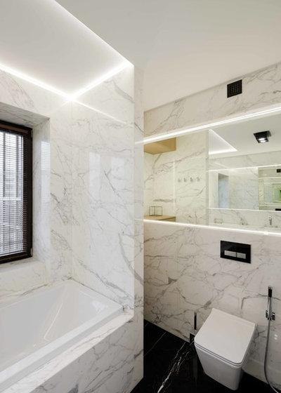Современный Туалет by Architectural bureau MODUL