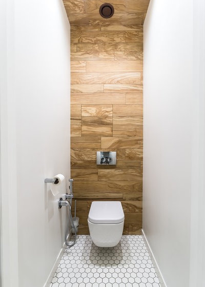 Современный Туалет by Михаил Новинский (MNdesign)