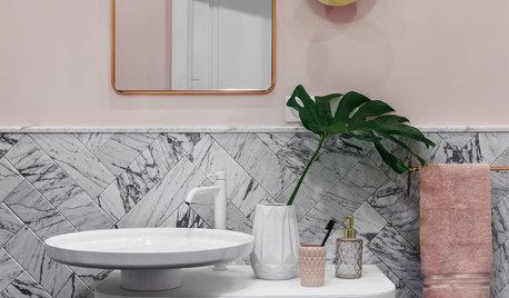 Тренды: Модные интерьеры ванной комнаты в 2018-м году