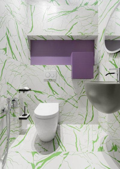 Contemporain Toilettes by DVEKATI