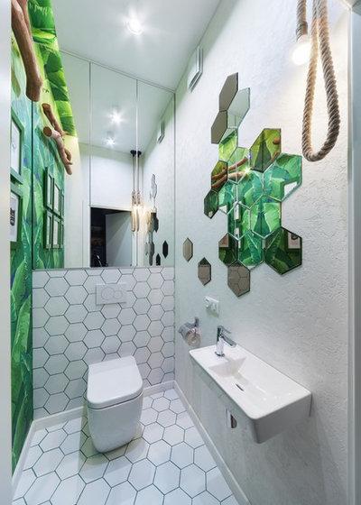 """Contemporain Toilettes by Дизайн-студия """"Gradiz"""""""