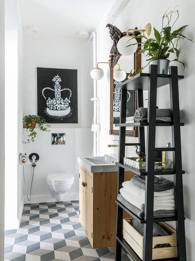 Современный Туалет by Korneev Design Workshop