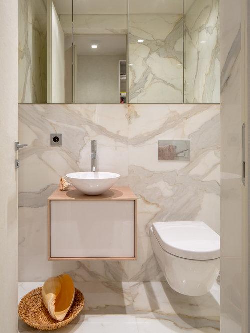 Photos et id es d co de wc et toilettes contemporains avec for Decoration porte plane