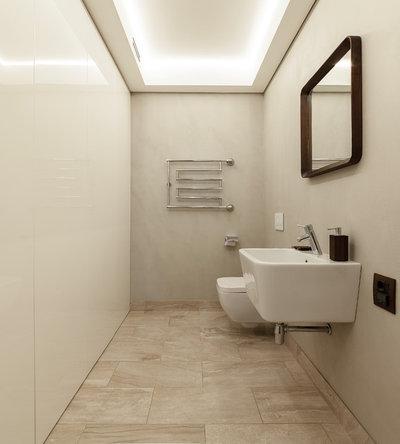 Современный Туалет by дизайн - студия Валерии Масловой