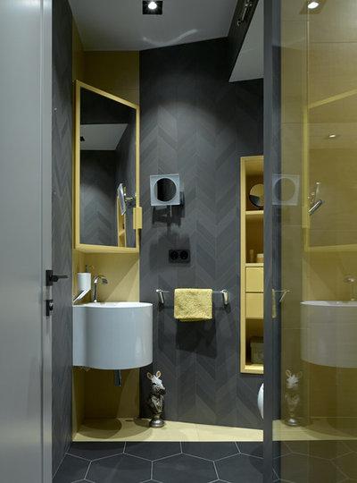 Современный Туалет by Наталья Лаврик Алла Поленова P-L-A-N