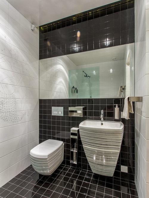 g stetoilette g ste wc mit wandtoilette und farbigen w nden ideen f r g stebad und g ste wc. Black Bedroom Furniture Sets. Home Design Ideas