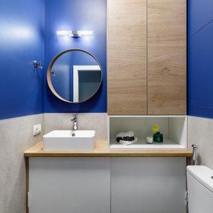 Источник вдохновения для домашнего уюта: туалет в современном стиле