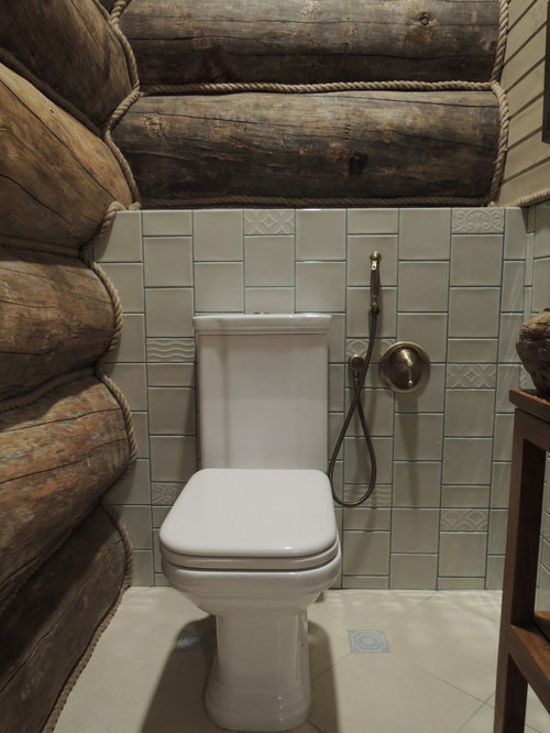 rustikale g stetoilette g ste wc mit gr nen fliesen ideen f r g stebad und g ste wc design. Black Bedroom Furniture Sets. Home Design Ideas
