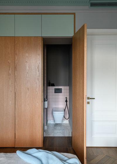 Модернизм Туалет by Buro 19.23