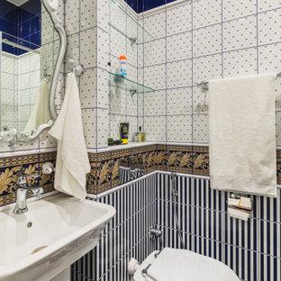 Источник вдохновения для домашнего уюта: туалет в стиле фьюжн