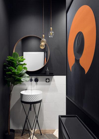 Современный Туалет Sweet home