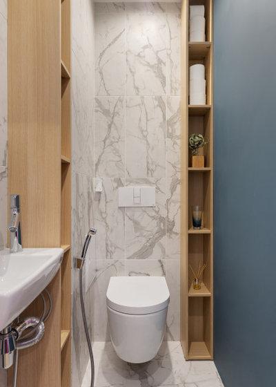 Современный Туалет by Дизайн бюро De-Sense