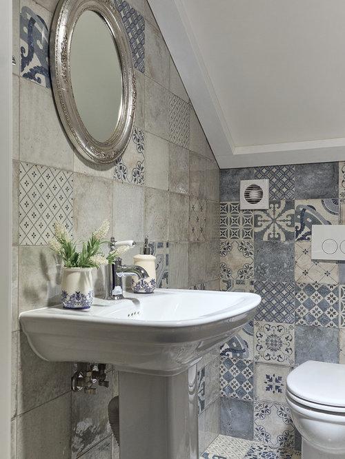 Shabby chic style bathroom design ideas renovations for Toilette shabby chic