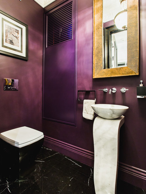 toilettes violet. Black Bedroom Furniture Sets. Home Design Ideas
