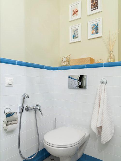 Photos Et Idées Déco De Wc Et Toilettes À Petit Budget Avec Un Mur