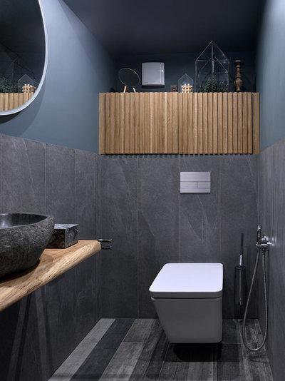 Современный Туалет by ARTUP BUREAU