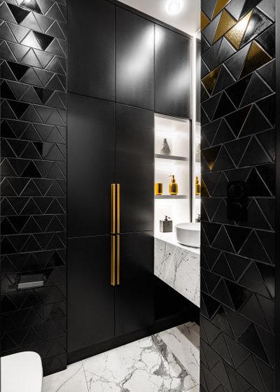 Современный Туалет by Дизайн студия Нечаев и Сенчугов