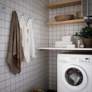 Inspiration för en nordisk tvättstuga