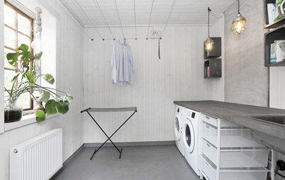 洗濯と家事が楽になる、ユーティリティとランドリールームのつくり方