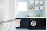 Tvättstuga Alva svart