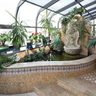 Создайте стильный интерьер: сад в классическом стиле с растениями в контейнерах - последний тренд