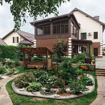 Экстерьер загородного дома
