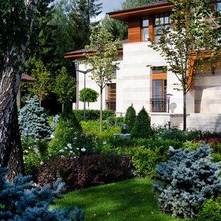 Создайте стильный интерьер: летний, геометрический участок и сад в классическом стиле с полуденной тенью - последний тренд