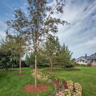 Идея дизайна: солнечный, летний участок и сад с хорошей освещенностью