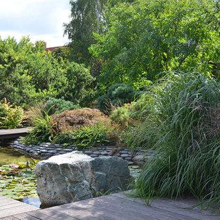 Идея дизайна: летний участок и сад в современном стиле