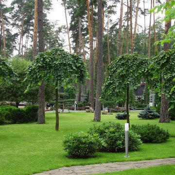Ландшафтный сад в Горках 2