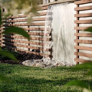 Удачное сочетание для дизайна помещения: летний садовый фонтан в современном стиле - самое интересное для вас