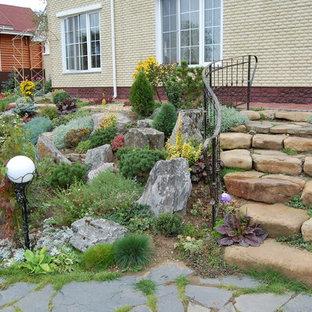 Свежая идея для дизайна: участок и сад в средиземноморском стиле - отличное фото интерьера