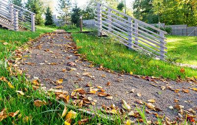 Как правильно: Дорожки без луж в саду