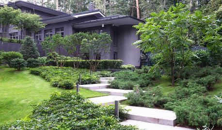 Проект недели: Модернистский сад на нескольких уровнях