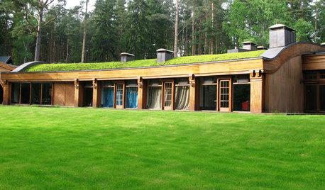 Экология загородного дома: Крыши