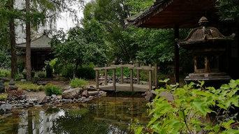 Стилизованный японский сад
