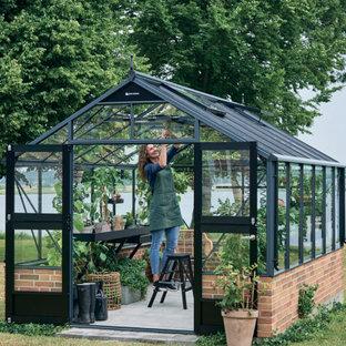 Inspiration pour un jardin nordique de taille moyenne et au printemps avec une exposition ensoleillée.