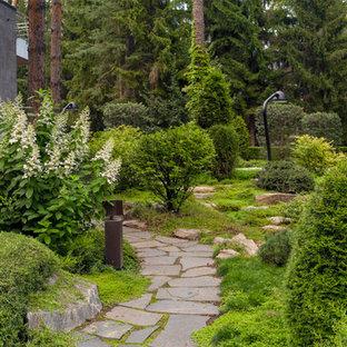 Идея дизайна: участок и сад в классическом стиле