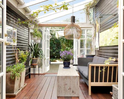 skandinavischer wintergarten bilder ideen houzz. Black Bedroom Furniture Sets. Home Design Ideas