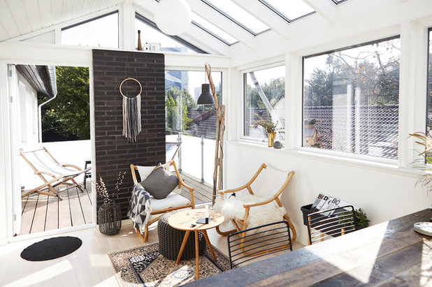 Scandinavian Sunroom by Mia Mortensen Photography