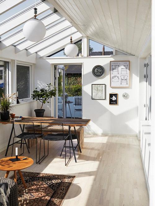 skandinavischer wintergarten mit glasdecke bilder ideen. Black Bedroom Furniture Sets. Home Design Ideas