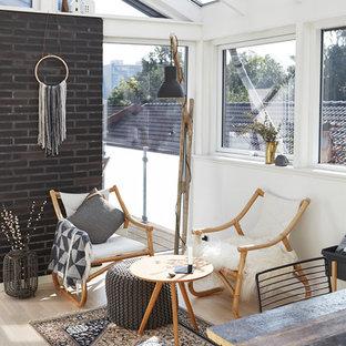 Immagine di una veranda nordica