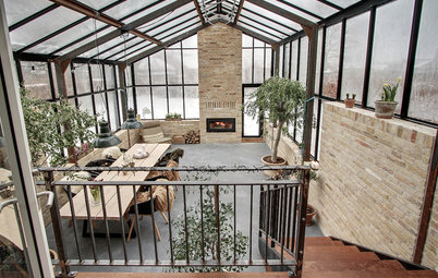 Addition Gives This Family a Living Room in a Glass Conservatory