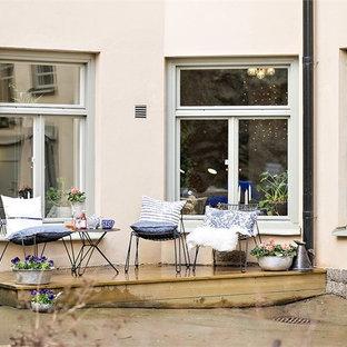 Idee per un patio o portico scandinavo