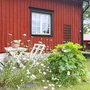 Immagine di un patio o portico scandinavo