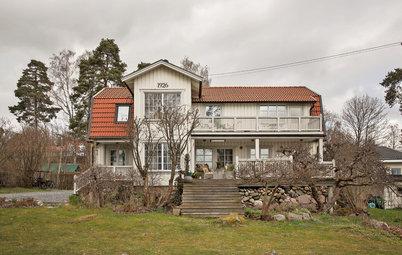 Houzz Швеция: Новая жизнь виллы с 90-летней историей