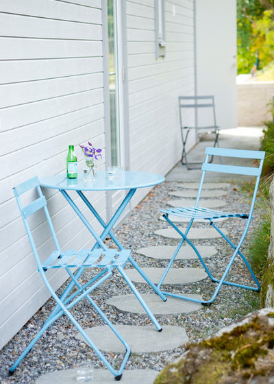 Shabby chic-inspireret Gårdhave by Fiam
