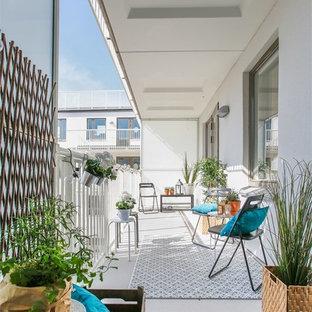 Ispirazione per un patio o portico scandinavo